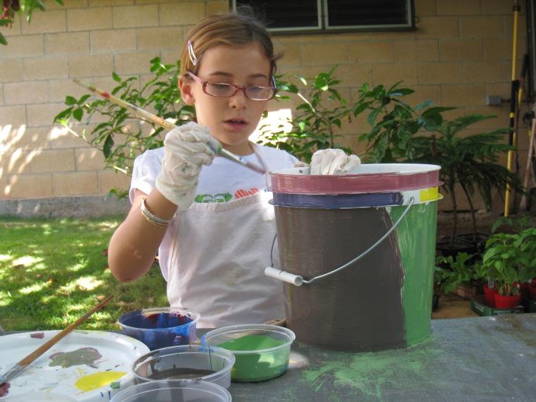 Kiana Bucket Gardening (11)