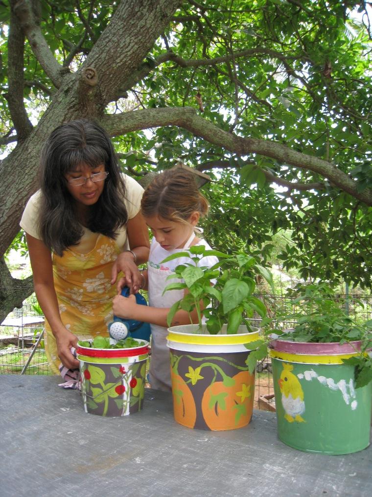 Kiana Bucket Gardening (37)